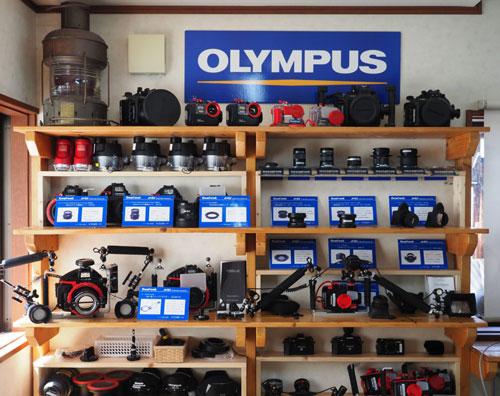 オリンパス水中撮影機材レンタル写真